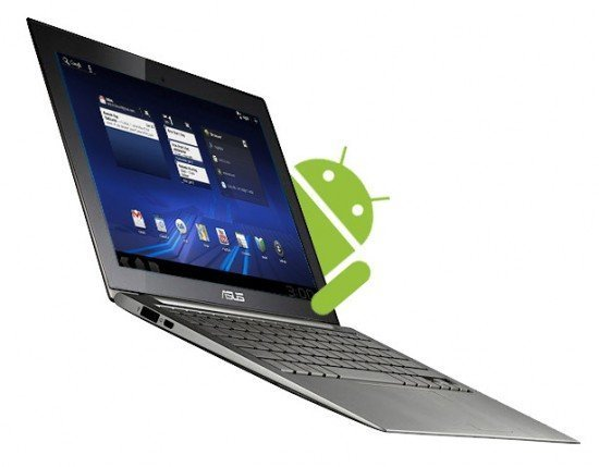 andorid laptop