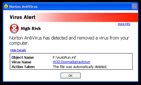 autorun virüs