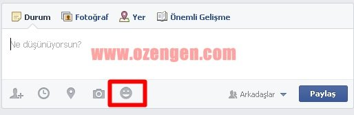 Facebook aktivite