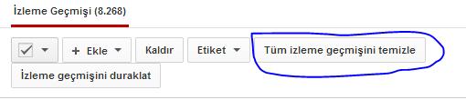 youtube_izleme_geçmişi_silmek