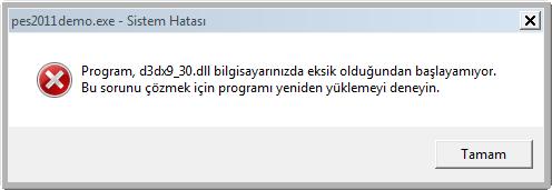 d3dx9_30.dll-hatasi