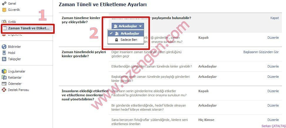 Facebook etiket