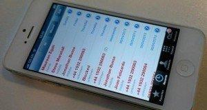 iphone rehber
