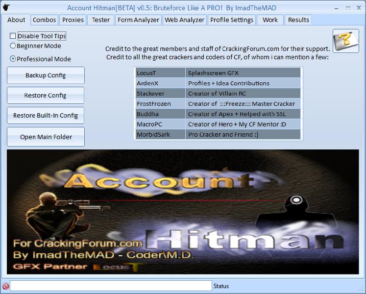 Account Hitman