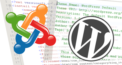 wordpress,joomla