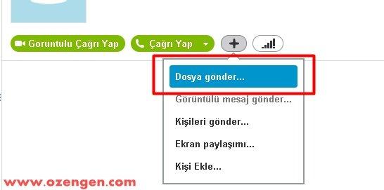skype dosya