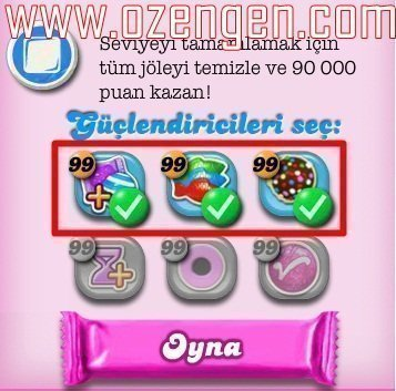 candy crush hile 3