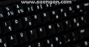 klavye sorun