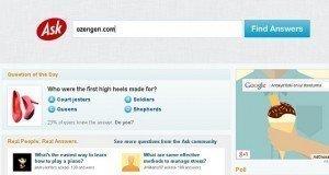 ask.com silme