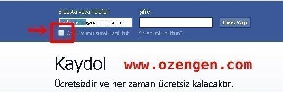 facebook otomatik