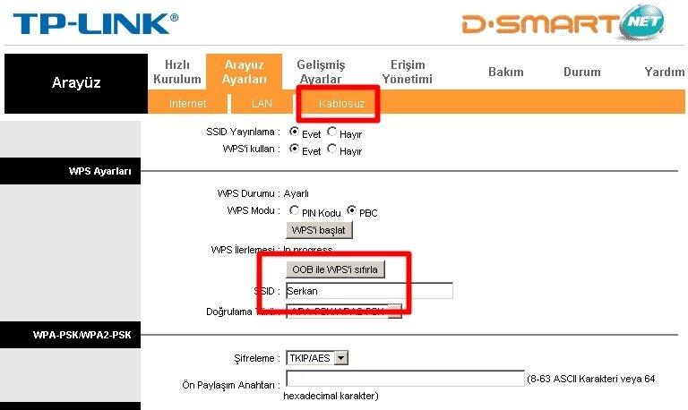 kablosuz isim değiştirme 1