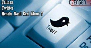 çalınan twitter