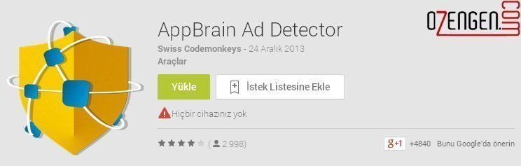 android reklam engelleme