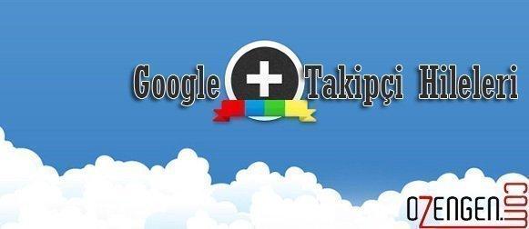 Google+ Takipçi Arttırma