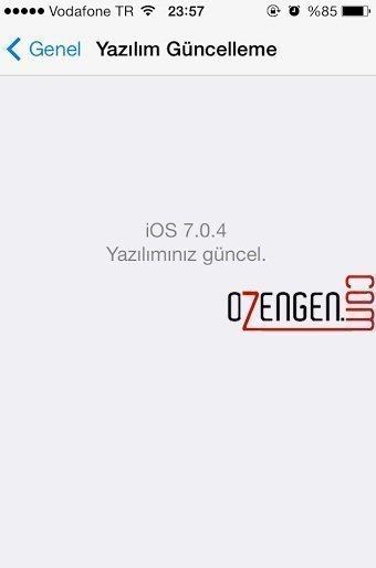 iphone güncelleme 1