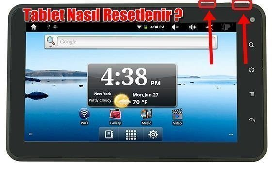 tablet reset