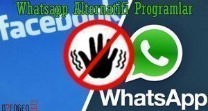 whatsapp alternatif