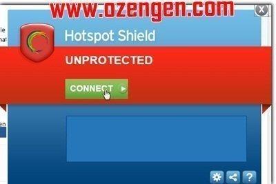 Hotspot Shield kullanım