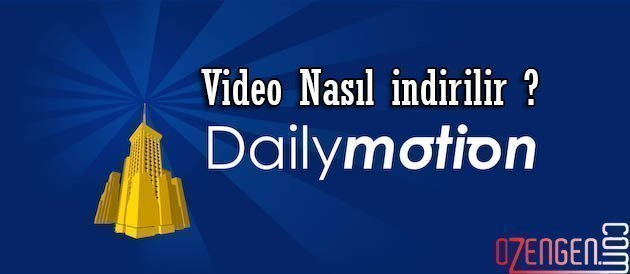 dailymotion video indir