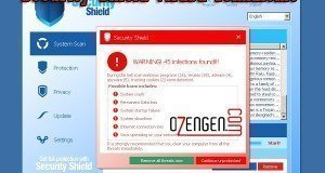 security shield virüsü