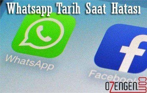 whatsapp saat hata