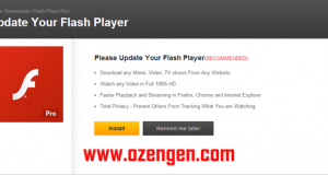 Flash player hata