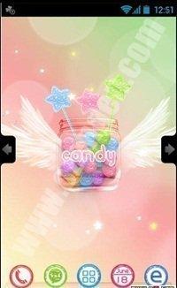 candy tema