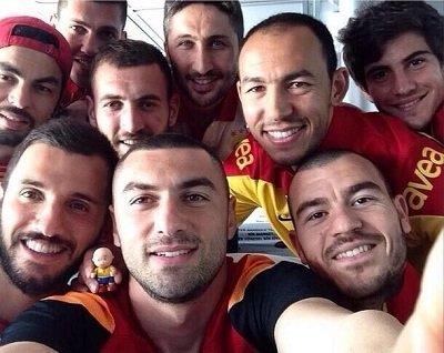 galatasaray selfie