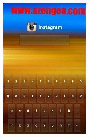 instagram şifreleme