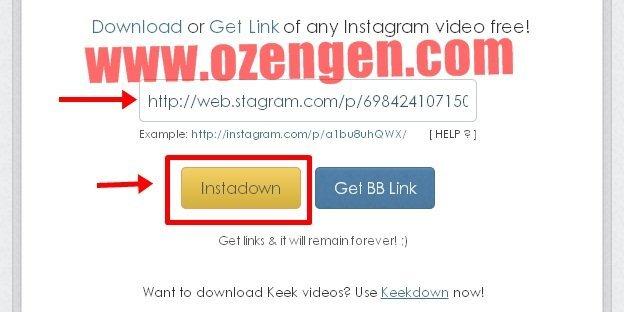 instagram video
