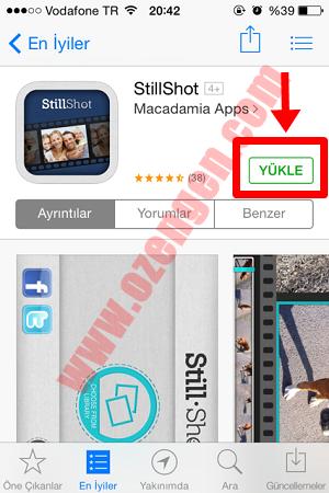 App store indirme