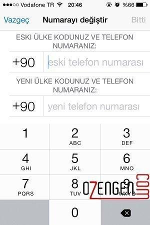 Telefon değiştirme 2