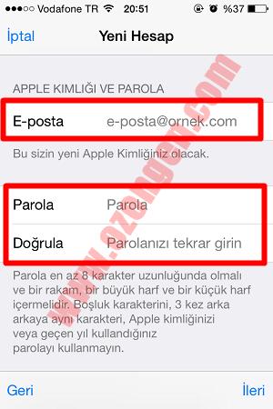 app store üyelik 2