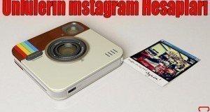 instagram ünlüler