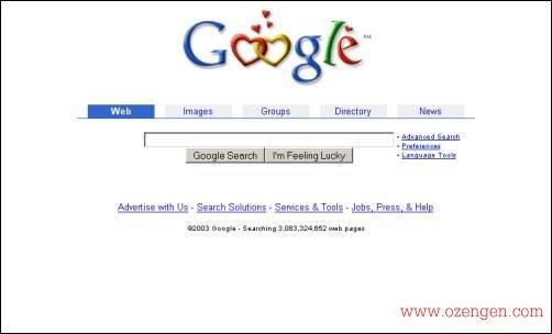 google 2003