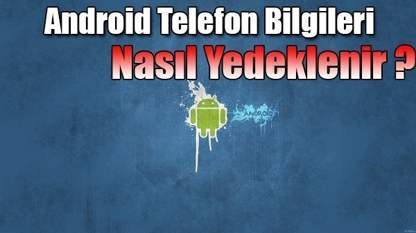 android yedek