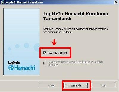hamachi kurulum 3