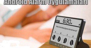 alarm uygulama