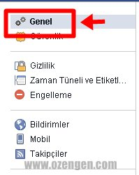 facebook genel
