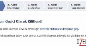 facebook kilit