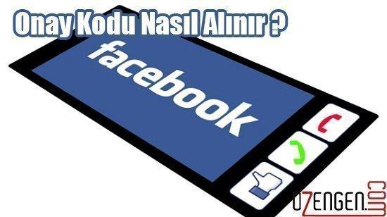 facebook onay kodu