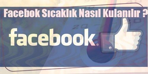 facebook sıcaklık