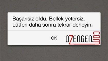 whatsapp bellek