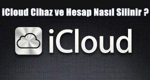 iCloud silme