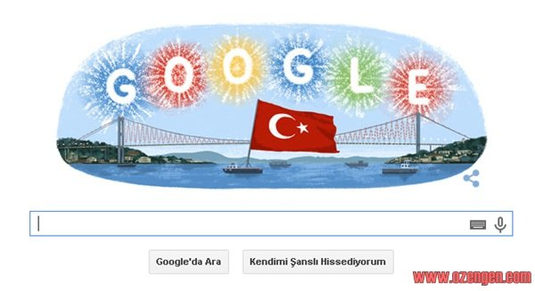 Google cumhuriyet bayrami