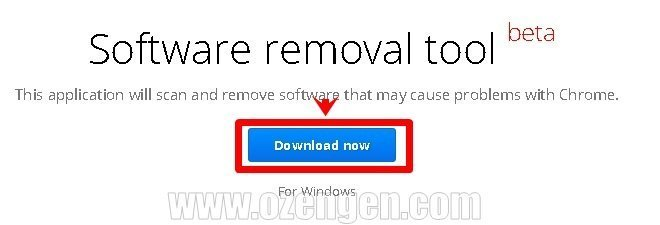 chrome removal tool
