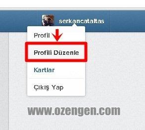 profili duzenle