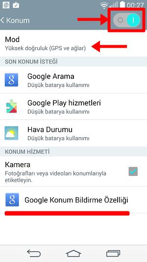 Android GPS Çalışmıyor Konum Bulunamıyor Belirlenemiyor Kullanılamıyor Sorunu - Afolog