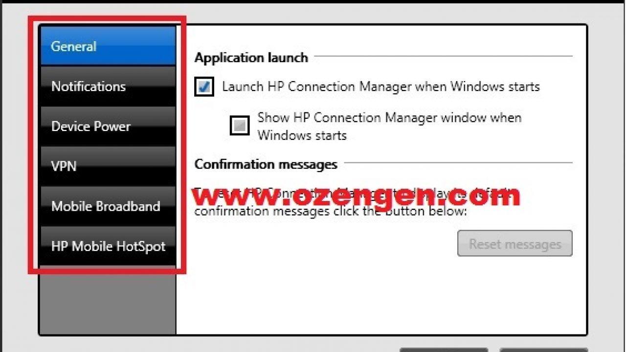 HP Connection Manager Nasıl Kullanılır - Ozengen