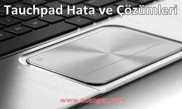 Touchpad sorun